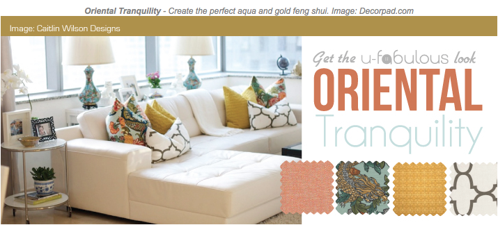 Ufabulous Design Room: Oriental Tranquility